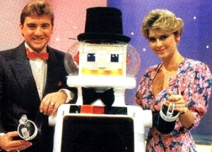 If only we could get advice from adorable 80s robots