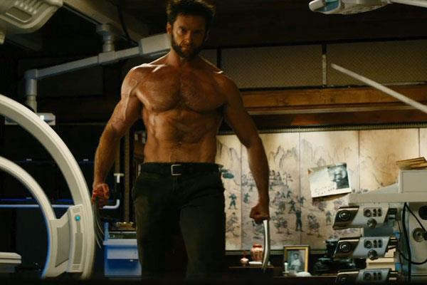 The-Wolverine-Logan-shirtless-again